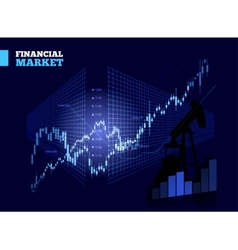 Stock Market Chart vector