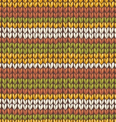 stockinette stitch texture vector image