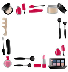 cosmetics isolated vector image