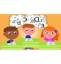 dyslexia vector image vector image
