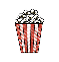 cinema bucket icon vector image