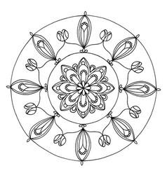 Mandala 1 image vector