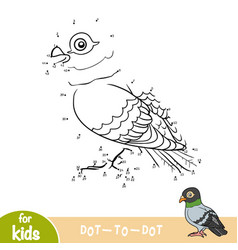 Numbers game pigeon vector
