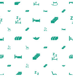 Rest icons pattern seamless white background vector