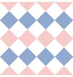 Rose Quartz Serenity White Diamond Background vector image