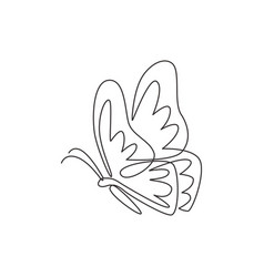 single continuous line drawing luxury vector image