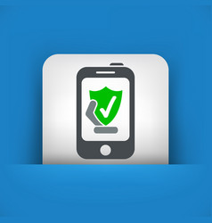 smartphone protection vector image