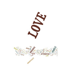 you can have love that never ends text background vector image