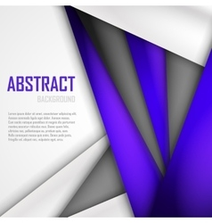 Abstract background of purple white and black vector image vector image