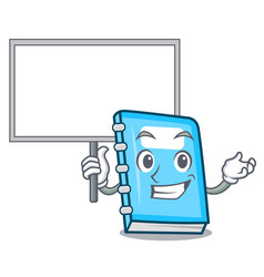 bring board education character cartoon style vector image