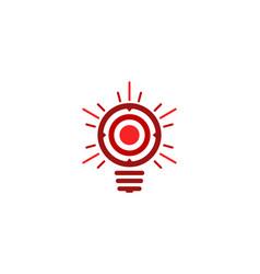 creative target logo icon design vector image
