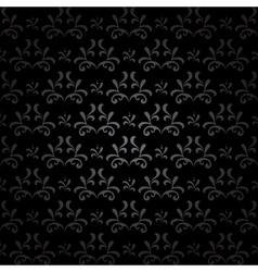 dark seamless pattern - vintage vector image