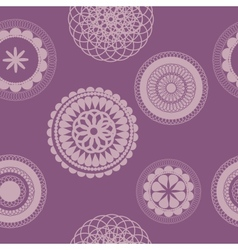 flower pattern background seamless vector image