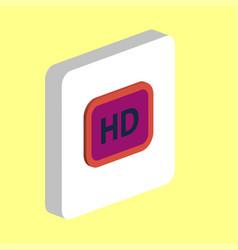 Hd computer symbol vector