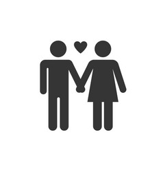 marriage relationship icon images vector image