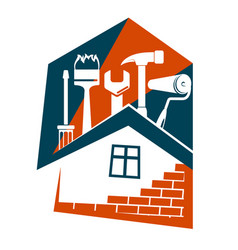 Repair housing symbol vector