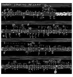 Seamless notes vector