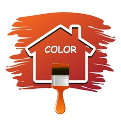 house color vector image vector image