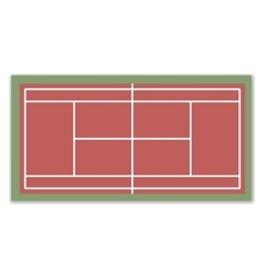 A field for Tennis vector