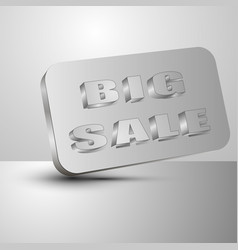 big sale the 3d vector image