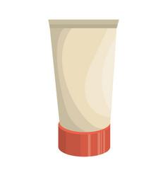 cream bottle product icon vector image