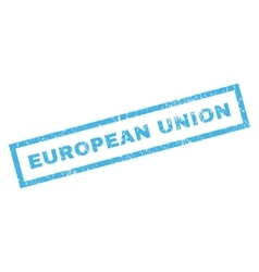 European Union Rubber Stamp vector