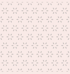 Floral geometric background seamless pattern vector