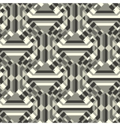 geometric textured background vector image vector image