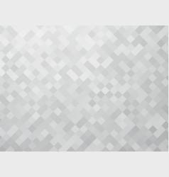 mosaic gray pattern vector image