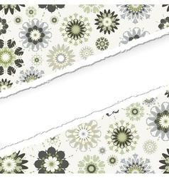 ragged seamless pattern vector image