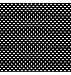 Scales seamless pattern in black and white vector image