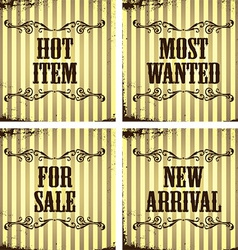Shopping and retail design vector