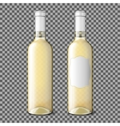 Two transparent realistic with place for your vector image