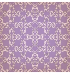 seamless with decorative pattern vector image vector image