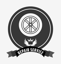 repair service design vector image