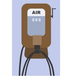 air pump vector image
