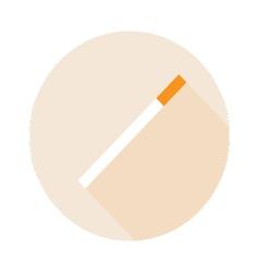 Cigarette Flat design vector