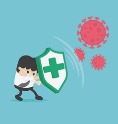 Fight covid-19 corona virus vector