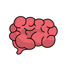 Mental health smart brain vector