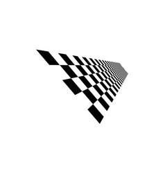 Racing flag design template race flag design vector