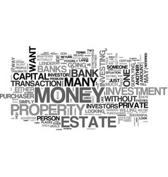 What to do when the banks say no text word cloud vector