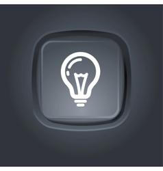 light bulb pictogram vector image vector image