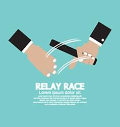 Relay Race vector image vector image