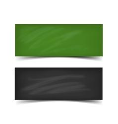 School board banner set vector image