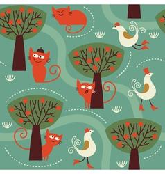 fabric children design vector image