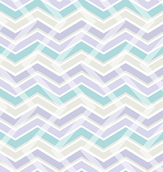 Pastel color zig zag seamless pattern vector