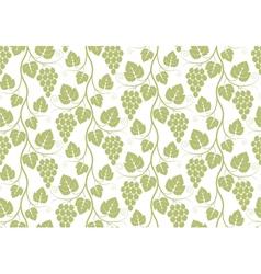 Pattern Grape vector image vector image