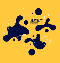 trendy abstract background composition vector image
