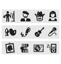 Creative professions vector
