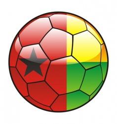 Guinea Bissau flag vector image vector image